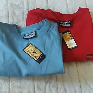 2 for $6 | Basic Red and Blue Tees